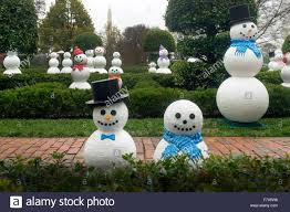 White House Christmas Decorations For 2015 by Washington Dc Usa 2nd Dec 2015 Snowmen Decorate The White