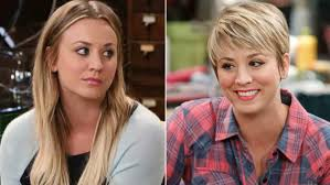 penny with short hair kaley cuoco pixie cut back the 2014 fall tv season has seen