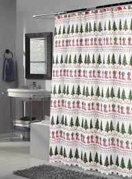 Tree Curtain Top 40 Beautiful Designs Of Christmas Bathroom Curtains