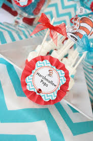Thing One And Thing Two Party Decorations Kara U0027s Party Ideas Thing One Thing Two Dr Seuss Twins 1st Birthday