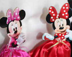 minnie mouse party minnie mouse centerpiece etsy