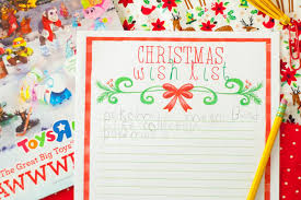 the christmas wish list printable christmas wish list carrie