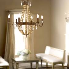 Small Bedroom Chandeliers Canada Antique Finish Wood 6 Lights Cage Chandelier At Lightingbox Com Canada