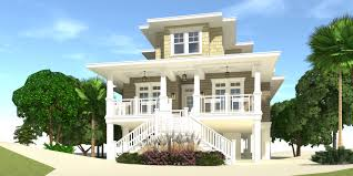 raised beach house plans beach house plans by tyree build on pilings small cottage narrow