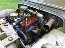 wwii jeep engine 1943 willys mb ww2 army jeep gpw