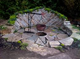 home design backyard fire pit ideas diy concrete architects