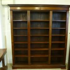 Carlyle Large Bookcase Large Black Bookcase Floor To Ceiling Bookcase With Ladder Large