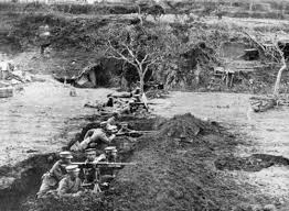 siege montauban japanese troops their type 38 machine guns during the siege of