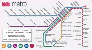 san jose light rail map san francisco metro maps pinterest san francisco