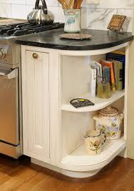 Corner Kitchen Cabinet by Rounded Corner Kitchen Cabinet
