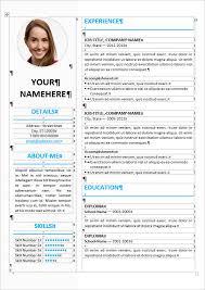 Editable Resume Templates Resume Template Editable 28 Images Free Resume Templates
