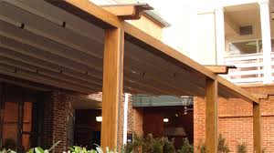 Retractable Pergola Awnings by Durasol Awnings Shading Solutions Photo Gallery