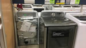 Washer Dryer Enclosure Stores Pulling Samsung Washers After Explosion Issues Fox23