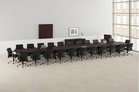 Large Conference Table Hon Preside Large Boardroom Traditional Conference Table
