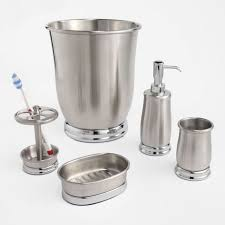 Polished Nickel Bathroom Accessories by Satin Nickel Bathroom Accessorie Pic On Brushed Nickel Bathroom
