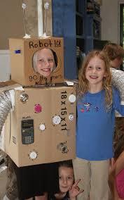 Kids Robot Halloween Costume Holiday Crafts Halloween Recycled Stuff Fun Making