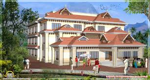 3d model floor plan 5 kerala style house 3d models kerala home design and floor plans
