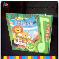 Children Sound Book Book Custom Book Printing Custom Educational Children Sound Board Book Printing Buy Child