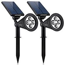 urpower solar lights 2 in 1 solar powered 4 led