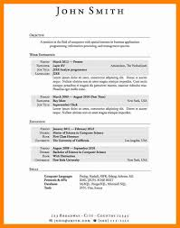 Student Part Time Job Resume by 4 Job Resume High Student Doctors Signature