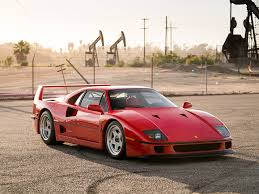 f40 auction pristine f40 heads to auction with aftermarket turbos and