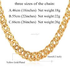 chain necklace men images Wholesale male chain necklace trendy jewelry wholesale 5mm gold jpg