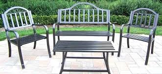 Iron Patio Table And Chairs Metal Garden Furniture U2013 Exhort Me