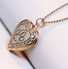 jewelry locket necklace images Photo frame locket necklace silver gold color pendant pet cat jpg