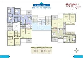 Tenement Floor Plan by Riddhi Siddhi Heights Rr Lunkad Builders And Promoters