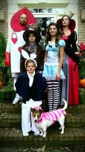 Alice Wonderland Costume Halloween Alice Wonderland Family Costume Halloween Costume Contest