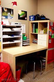 Bureau Réalisé Avec Module Kallax De Ikea Mon Bureau Pinterest Kallax Bureau