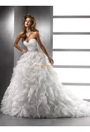robe de mari e original robe de mariée originale 2013 organza col coeur cristal