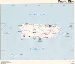 Puerto Rico Blank Map by Nationmaster Maps Of Puerto Rico 7 In Total