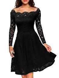 semi formal dress lace dresses black m slash neck lace semi formal dress gamiss