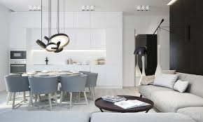 Black And White Kitchen Floors 30 Gorgeous Grey And White Kitchens That Get Their Mix Right