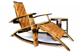 Wine Barrel Rocking Chair Plans Furniture Made From Whiskey Barrels Hungarian Workshop