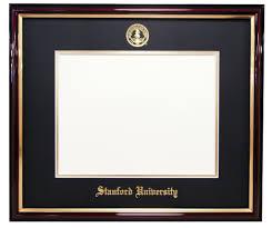 frames for diplomas diploma frames stanford student store