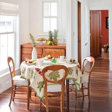 White Wooden Dining Table And Chairs Stylish Dining Room Decorating Ideas Southern Living