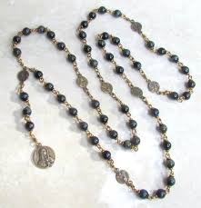 rosary of the seven sorrows chaplets one decade rosary tenners