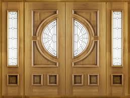 Prehung Exterior Door Exterior Wood Doors Prehung With Glass Home Depot Front