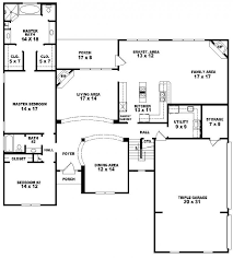 5 bedroom 3 bathroom house plans sensational ideas 3 5 bedroom 4 bath house plans car garage floor
