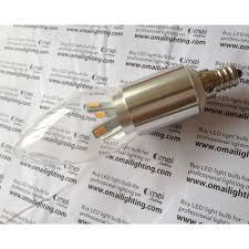 e12 dimmable led filament bulb 5w 45 watt pure daylight white