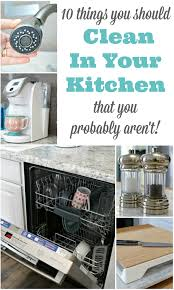 what s the best thing to clean kitchen cabinets with 10 things you should be cleaning in your kitchen but