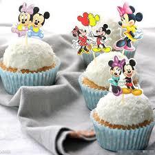 mickey and minnie cake topper 24pcs mickey minnie mouse cupcake topper picks birthday wedding