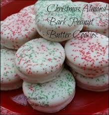 almond bark peanut butter and ritz christmas cookies