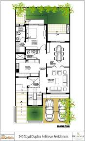 floor plans for duplex homes