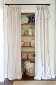 Cloth Closet Doors Curtains For Closet Doors 11 Closet Door Alternative Easy Drop