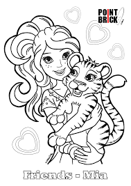 coloring coloring pages lego friends lego