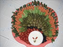 thanksgiving turkey veggie tray by p at www food