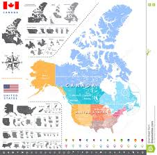 Canada Map With Provinces by United States Census Bureau Regions Ans Divisions Map Canadian